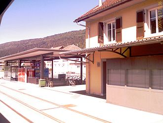Courtelary - Courtelary train station