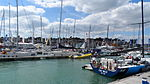 Cowes Yacht Haven during Cowes Week 2013 6.JPG