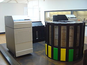 A Cray-2 supercomputer at the Musée des Arts e...