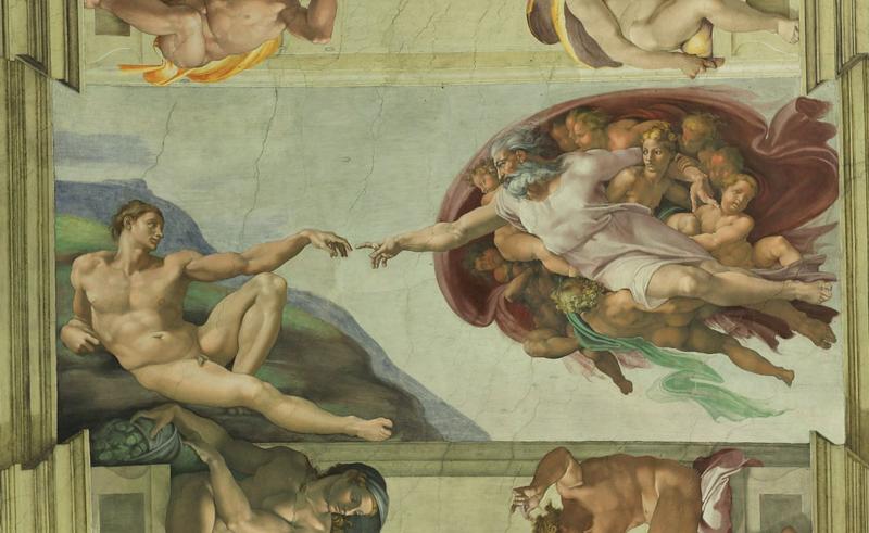 see: the Sistine Chapel