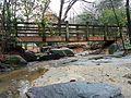 Creek bridge at Fallon Park in Raleigh, North Carolina.jpg