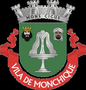 Monchique - Image: Crest of Monchique, Portugal