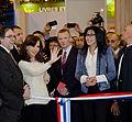 Cristina Fernandez de Kirchner y Jorge Coscia inauguraron el Salón del Libro de París 2014 (13296812894).jpg