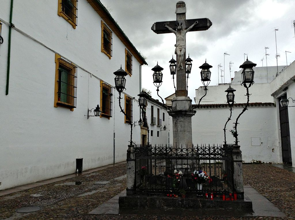 Plaza de Capuchinos. Cristo de los Faroles