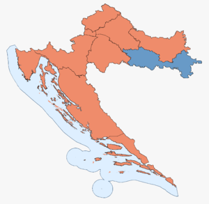 Croatian parliamentary election, 2000 - Image: Croatian Parliamentary Election Results 2000