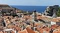 Croatie, Dubrovnik, Vue des remparts sud à partir des remparts nord (46508639364).jpg