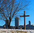 Croix de Jacques Cartier, Parc Cartier Brébeuf, Québec, QC, Canada.jpg