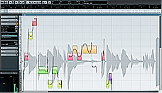 Pitch correction - Vocal pitch editing using VariAudio on Cubase6
