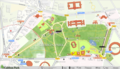 Cubbon Park OSM Map.png