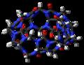 Cucurbit(7)uril (side) 3D stick.png