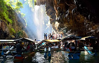 Ciamis Regency - Image: Cukang Taneuh (Green Canyon Indonesia) 01
