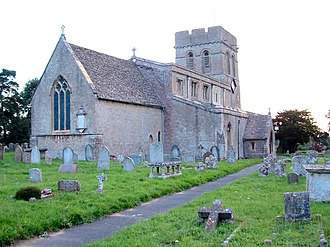 Cumnor - Image: Cumnor church