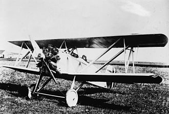 Naval Aircraft Factory TS - The first F4C-1 in 1924.