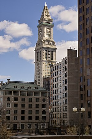 Peabody and Stearns - Custom House Tower, Boston