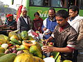 Cut Fruits Stall - Gangasagar Fair Transit Camp - Kolkata 2012-01-14 0845.JPG
