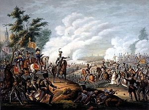 Ten Days' Campaign - Scene from the Dutch victory at the Battle of Leuven on 12 August