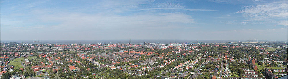 Panorama Cuxhaven