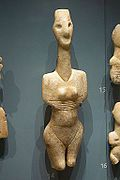Cycladic figurine female, 3200-2800 BC, AshmoleanM, AN 1946.118, 142402.jpg