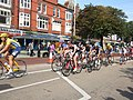 Cycle race along Lord Street - geograph.org.uk - 966311.jpg