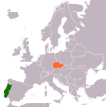 Czech Republic Portugal Locator.png