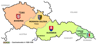 First Czechoslovak Republic - The interwar Czechoslovakia
