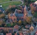 Dülmen, Hiddingsel, St.-Georg-Kirche -- 2014 -- 4253 -- Ausschnitt.jpg