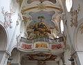 D-7-79-184 7 Moenchsdeggingen Klosterkirche Orgel-Deckenfresko 19.jpg