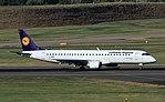 D-AEBS Embraer 195 Lufthansa BHX 30-08-16 (29499492520).jpg
