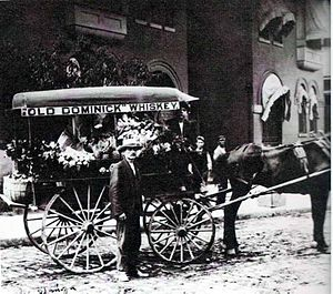 Domenico Canale - Image: D. Canale and Co. Produce Wagon 1907