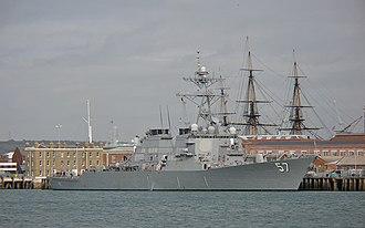 USS Mitscher (DDG-57) - Image: DDG57 USS Mitscher BB