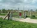 DIY Level Crossing ^ - geograph.org.uk - 162686.jpg