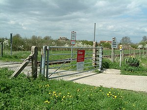 DIY Level Crossing ! This level crossing allow...