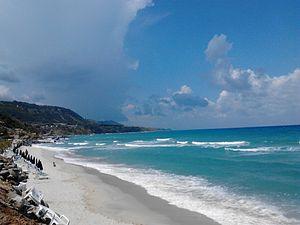 Parghelia - The beach