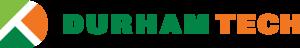 Durham Technical Community College - Image: D Tech color horz logo