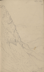 Drawing of Cadair Idris