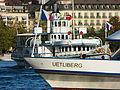 Dampfschiff Stadt Rapperswil - ZSG 'Uetliberg' - General-Guisan-Quai 2012-08-08 19-23-16 (WB850F).JPG