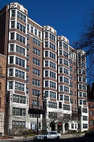 Boston University Housing System - Danielson Hall on Beacon Street