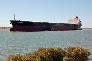Darya Shanthi arrives at Port Hedland, 2012 (4).JPG