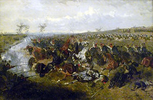 Battle of Schweinschädel - The Battle of Schweinschädel (Alexander von Bensa, 1866)