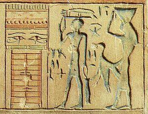 Eye of Ra - Both eyes: the left eye of Ra, the right eye of Horus.