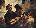 Daumier - Les Chanteurs de rue, 1860.jpg