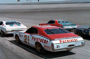 David Pearson (racing driver) - Pearson's No. 21 Mercury owned by the Wood Brothers