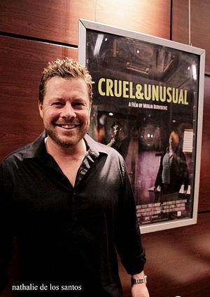 David Richmond-Peck - Richmond-Peck at the Cruel and Unusual premiere screening in Vancouver May 27, 2014