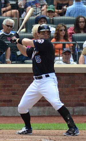 David Wright - Wright with the New York Mets in 2012