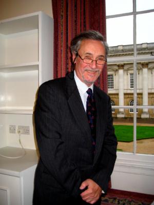 David Greetham (textual scholar) - David Greetham near window