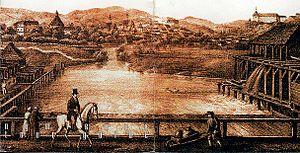Zolota Lypa River - A sketch of the Zolota Lypa.