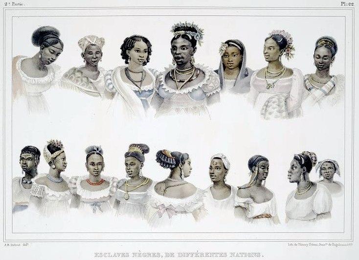 Debret - Esclaves Nègres de Differénts Nations