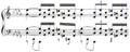 Debussy - Etude IX mes 10-11.png