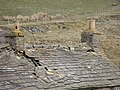 Decaying stone roof on the derelict mine buildings, Wolf Cleugh - geograph.org.uk - 1293800.jpg