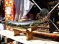Dedicate salmon,salmon-festival,yamakura-daijin-shrine,katori-city,japan.JPG